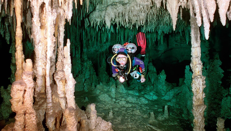 De basis van het grotduiken